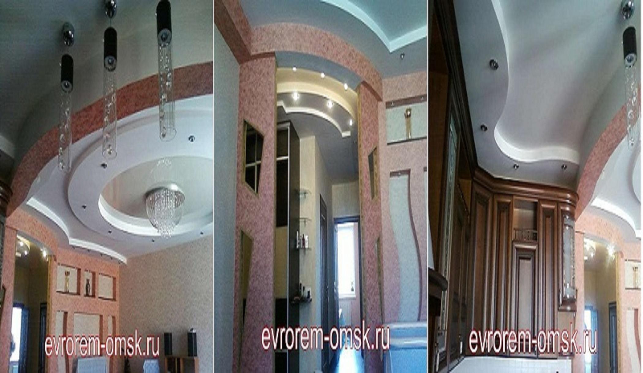 Ремонт квартир в Омске - дизайн интерьера в подарок