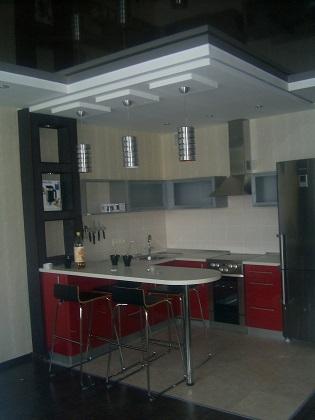 дизайн интерьера в Омске кухня