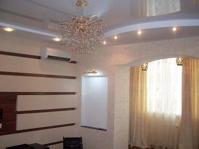 Ремонт квартир на Крупской 12 гостиная